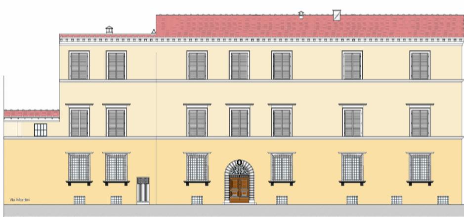 """Ristrutturazione e riqualificazione energetica """"Palazzo Monumentale Barsotti da Verzano""""2020/21"""